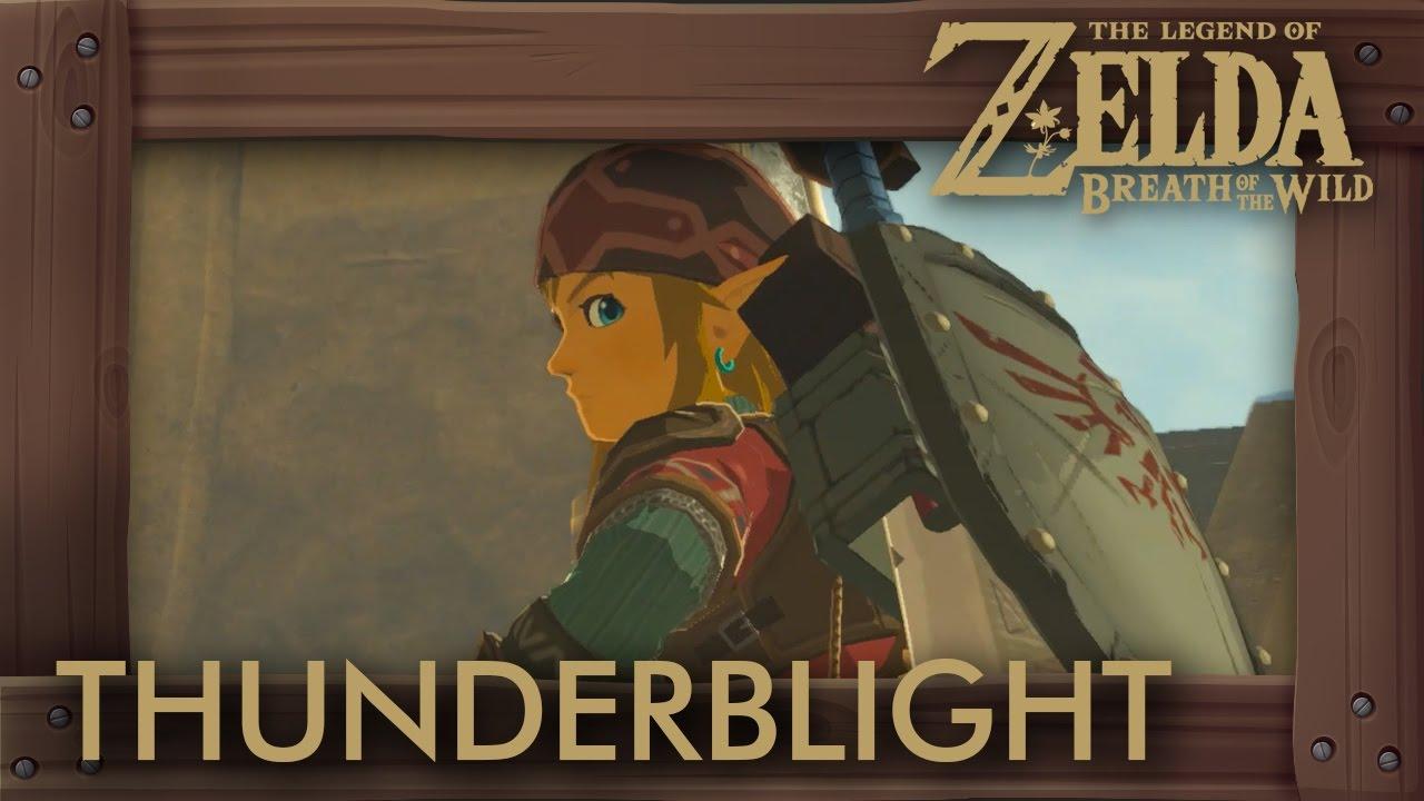Zelda Breath Of The Wild Thunderblight Ganon Boss Battle