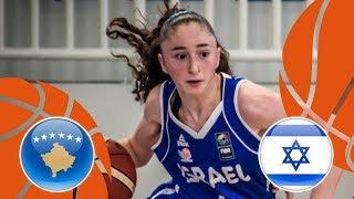 Kosovo v Israel - Full Game - FIBA U16 Women's European Championship Division B 2018 thumbnail