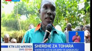 Sherehe za tohara za jamii ya Wabukusu zaandaliwa