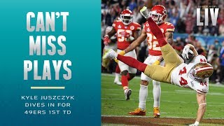 Juszczyk Dives into the End Zone for 49ers 1st TD! | Super Bowl LIV