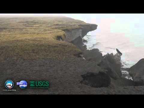 Arctic coastal erosion 2010