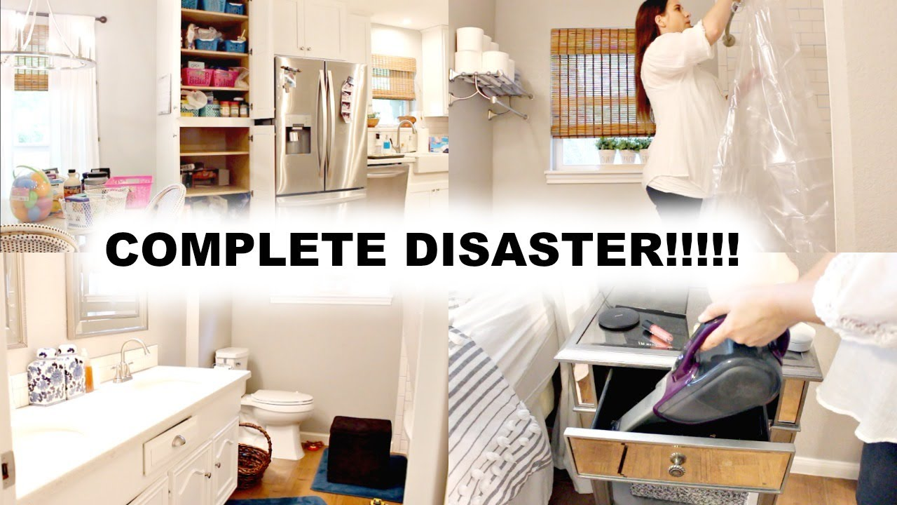 Download COMPLETE DISASTER! REARRANGE, DECLUTTER + CLEAN WITH ME 2019