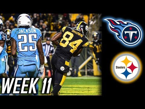 Week 11: Tennessee Titans lose to the Pittsburgh Steelers 40-17! Titans embarrased on