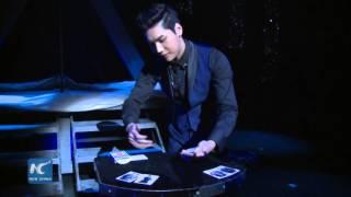 RAW: Card manipulator Yu Ho-Jin brings magic to Broadway