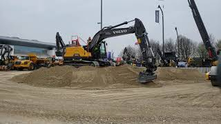 Video still for Volvo Demo Area at bauma 2019