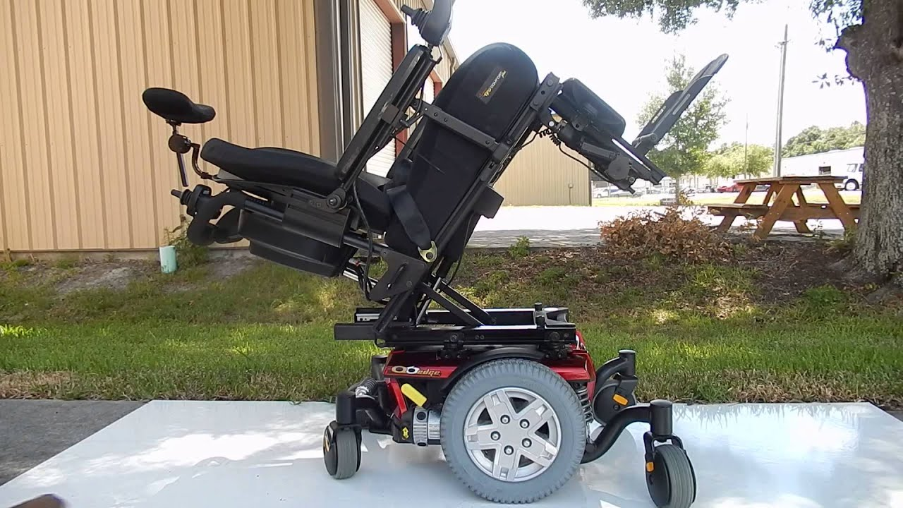 Pronto Power Chair Quantum Mobility Q6 Edge Power Chair With Electric Tilt