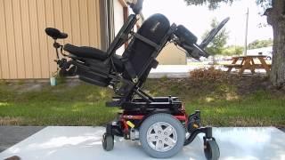 Quantum Mobility Q6 Edge Power Chair with Electric Tilt, Recline, Legs