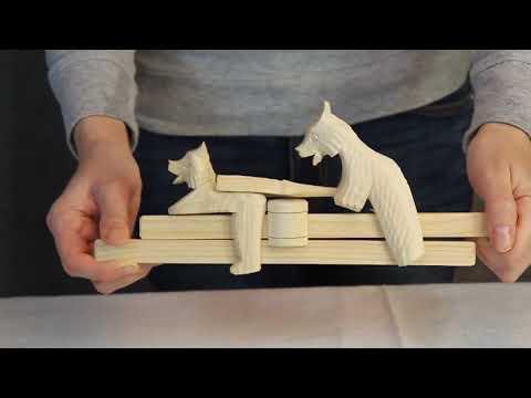 Богородская игрушка Мишки / www.artshop-rus.com