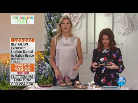 HSN | HSN Today: Revitalign Footwear by Gabby Reece 02.24.2017 - 07 AM