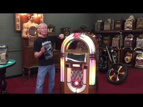 Rock ola bubbler 100 cd jukebox for sale