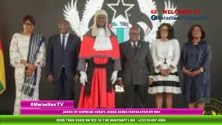 BREAKING: Audio of Supreme Court Judge being CIRCULATED by NDC