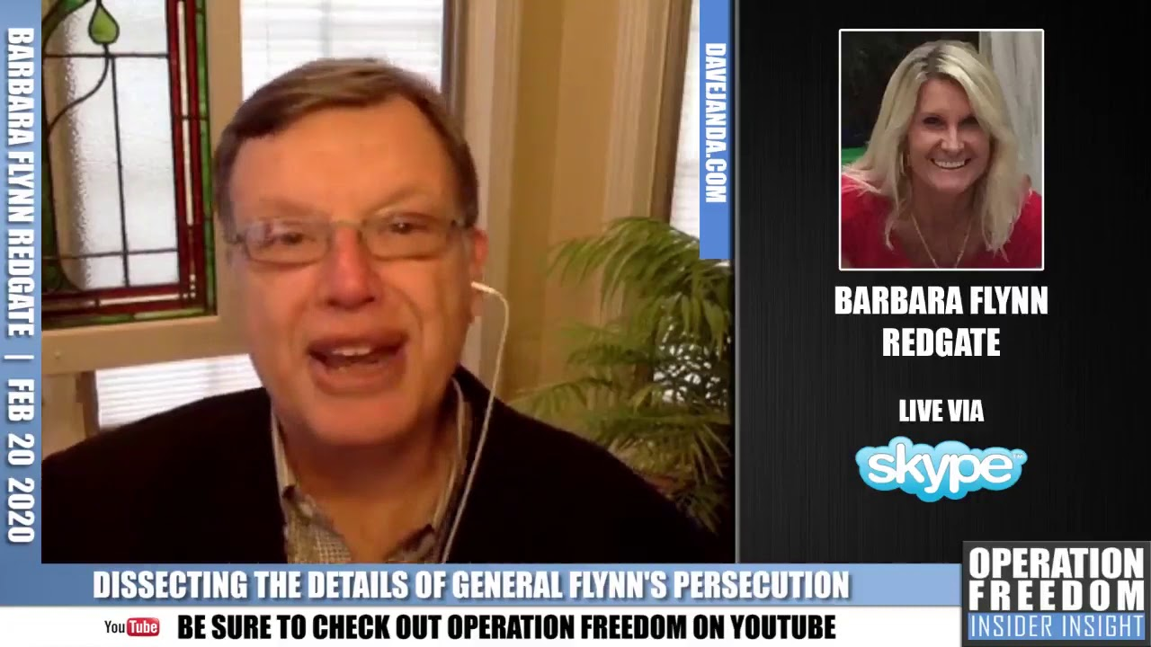 Part 3: Barbara Flynn Redgate: Dissecting The Detais of General Flynn's Persecution