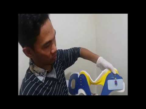 cervical collars for people pemasangan cervical collar youtube