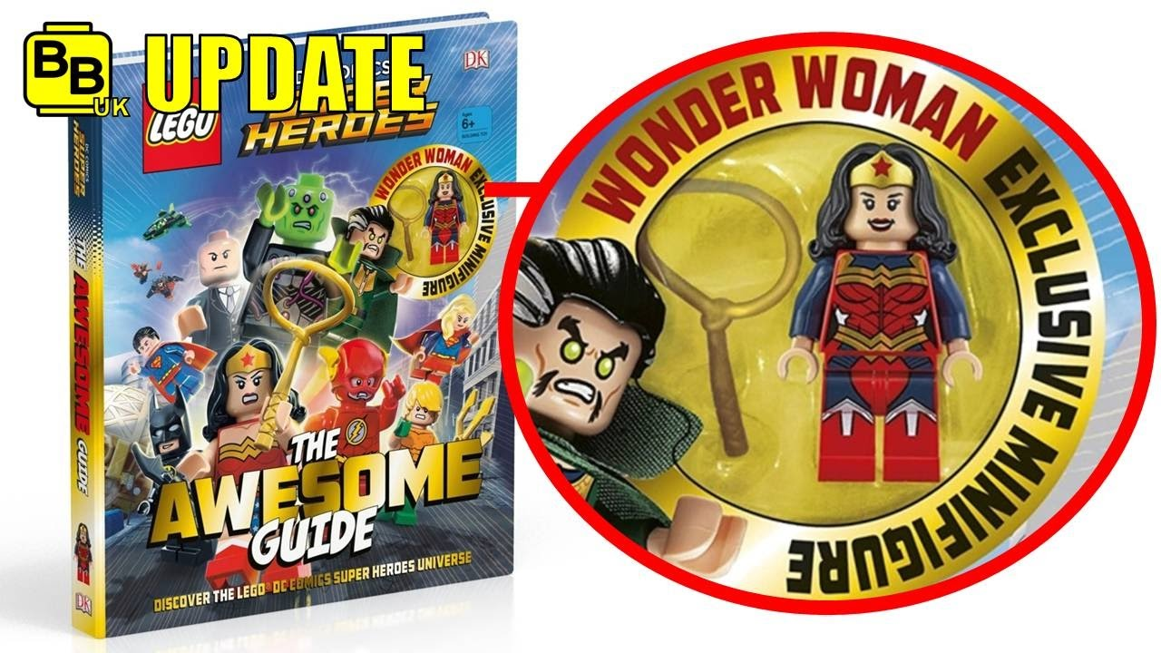 LEGO 2017 DC COMICS THE AWESOME GUIDE DK BOOK EXCLUSIVE ...