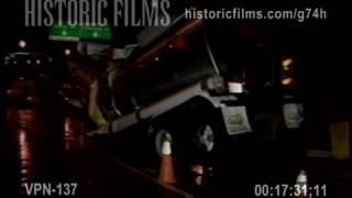 TRACTOR TRAILER ACCIDENT, HENRY HUDSON PARKWAY NEAR GEORGE WASHINGTON BRIDGE, NEW JERSEY
