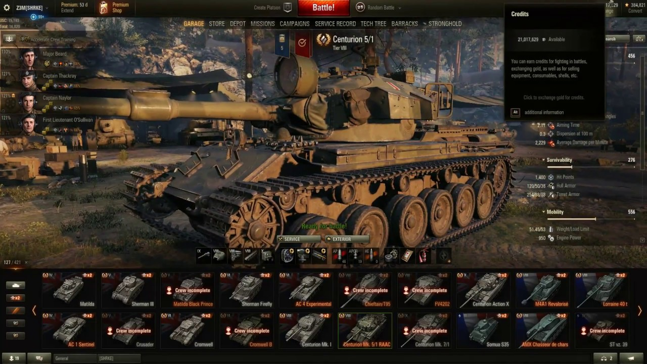 World Of Tanks Best Premium T8 Medium 3 5 7 Matchmaking Centurion Mk 1