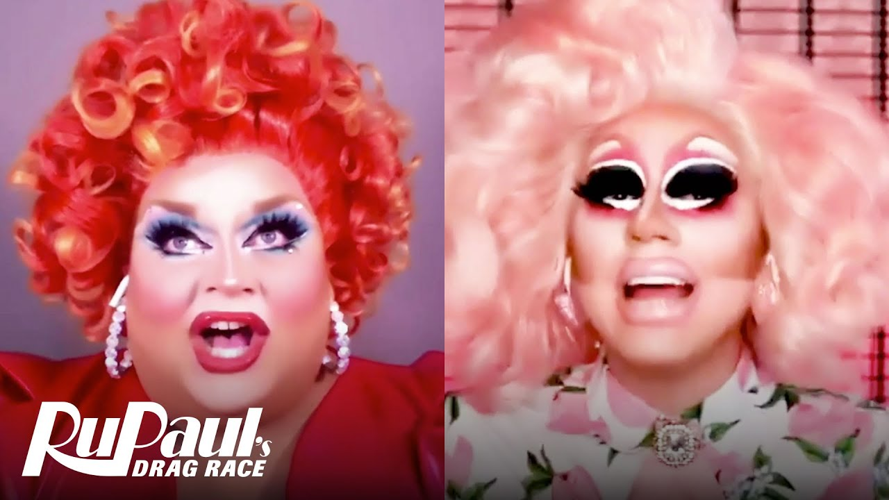 Download The Pit Stop S1 E5 | Trixie & Ginger Minj On Snatch Game | Canada's Drag Race
