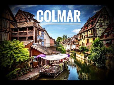 Elsass Karte Colmar.Colmar Alsace France