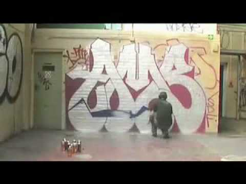 Sugarhouse Lane  Graffiti Timelapse