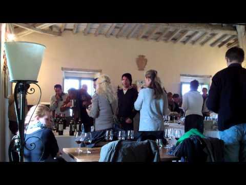 Deutsche Wein- und Sommelierschule zu Besuch bei Castel Giocondo di Marchesi de Frescobaldi