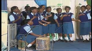 Moi Girls Nairobi school perfoming 'Sweet mother' by prince Nico Mbarga at the KMF 2010