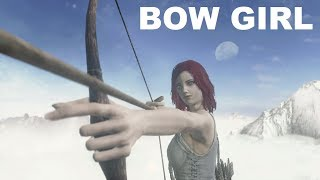 Dark Souls III - Archer Girl VS. All Bosses - Bow Only - SOLO, NO DAMAGE