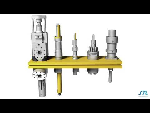 STL Hydraulically Retractable Couplers