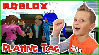 Playing Tag with my Friends / Roblox RoCitizens