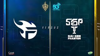 Team Flash vs Saigon Phantom [ Vòng 9 - 12.04 ] - Viettel 5G Đấu Trường Danh Vọng Mùa Xuân 2020