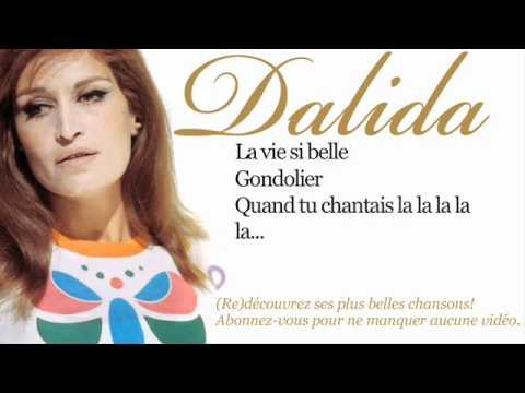 Dalida - Gondolier - Paroles (Lyrics)