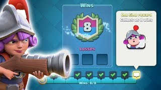 ONLY PROS CAN WATCH THIS! Perfect Musketeer Draft Challenge!   Clash Royale