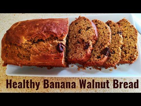 healthy-wheat-flour-banana-walnut-bread-recipe-|-healthy-tea-time-recipe-|-kids-special-|-ep-199