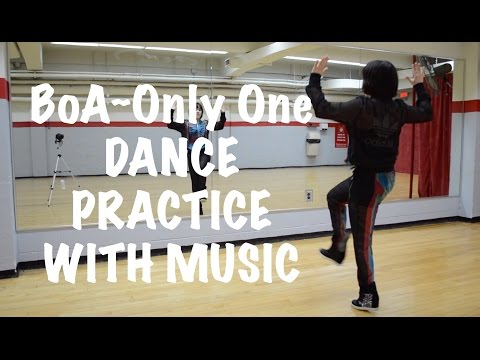 Only One ~ BoA Dance Practice with Music