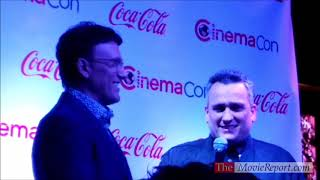 AVENGERS ENDGAME Anthony Russo & Joe Russo Interview At CinemaCon Awards - April 4, 2019