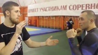 Бокс.Обучающее видео. Прямой Удар