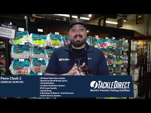 Penn Clash II Spinning Reels At TackleDirect