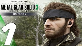 Metal Gear Solid 3 HD - Gameplay Walkthrough Part 1 - Snake Eater