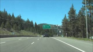 California - Interstate 80 West - Exit 190 to Exit 180 (5/20/13)