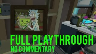 Rick and Morty: Virtual Rick-ality Full Playthrough [No Commentary]