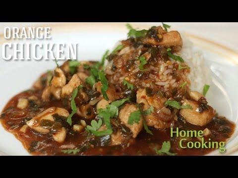 Orange Chicken Recipe Ventuno Home Cooking Youtube