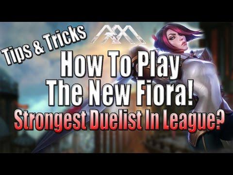 New Fiora Tutorial - Tips & Tricks - League of Legends