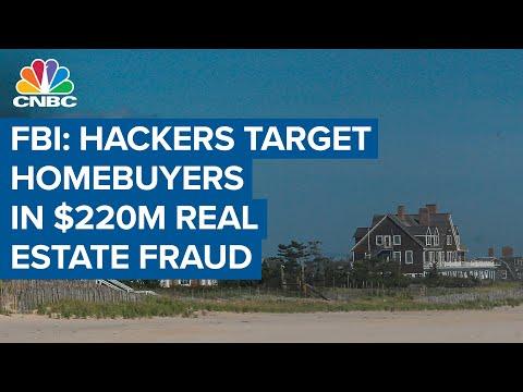 FBI: Hackers target homebuyers in $220 million real estate fraud