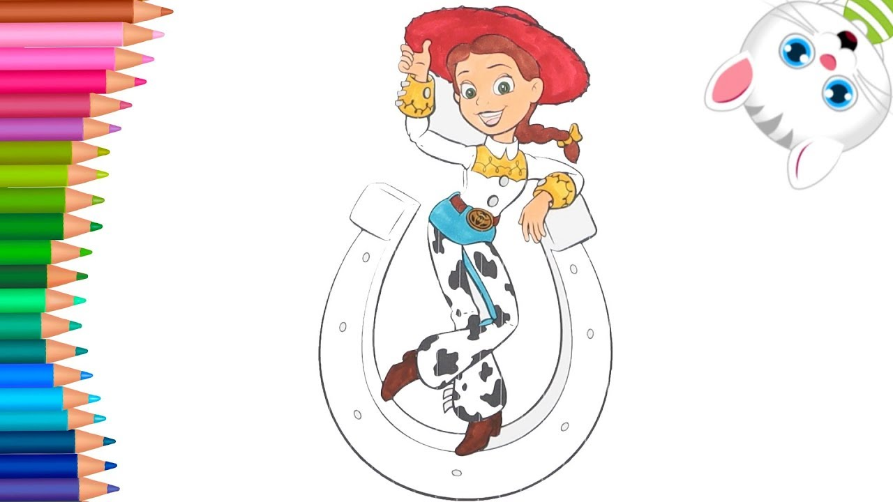 Toy Story Jessie Come Disegnare E Colorare Piccole Mani Libro