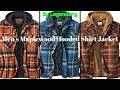Men's Maplewood Hooded Shirt Jacket !! Legendary Whitetails Jacket !! winter Jacket