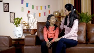 Beautiful Indian mother spending quality time with her daughter - family concept