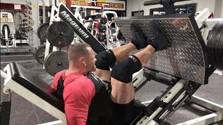 Squat Daily - Leg Day at Iron Physique in Lacrosse, WI