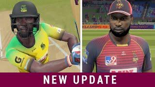 Pollard VS Russell - Power Hitting ! Cricket 19 New Update!
