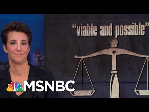 Donald Trump Hints At Defying Court, Edges Toward Constitutional Crisis | Rachel Maddow | MSNBC