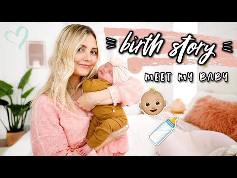 MY BIRTH STORY + Meet My Baby! | Aspyn Ovard