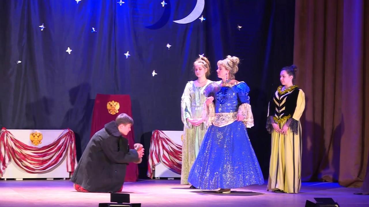 В Быковском ЦКД состоялся спектакль «Ночь перед Рождеством»